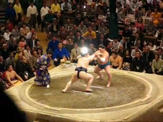 Sumida, Giappone: Sumo wrestling in Tokyo