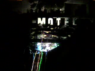 Malibu Riviera Motel: 60 foot waterfall