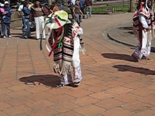 Morelia, Mexico: Dance of old people