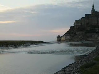 Mont-Saint-Michel, Frankrike: Movie 01 - The incoming tide
