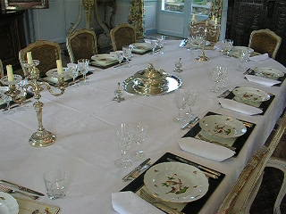 Chateau de La Barre : The Grand Dinning Room