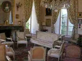 Chateau de La Barre, grand reception room