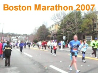 ‪‪Wellesley‬, ماساتشوستس: Boston Marathon 2007‬