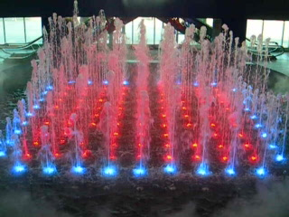 Fountain Show on Caesar's Pier, Atlantic City