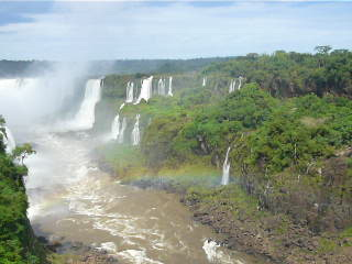Foz do Iguaçu, PR: View from the Brazilian side