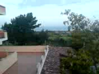 Ricadi, Italien: View from Bussola Hotel