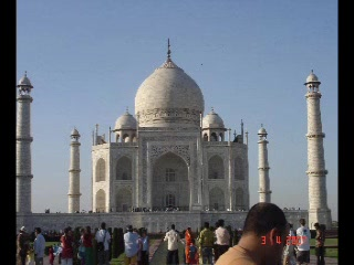 Agra, Indien: The eternal Taj Mahal