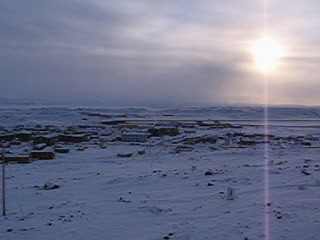 Iqaluit, Kanada: Late Afternoon