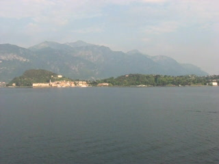 Cadenabbia di Griante, Italien: View from the Balcony Hotel Britannia