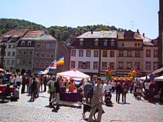 Heidelberg, Tyskland: 09. Marktplatz & Heiliggeistkirche