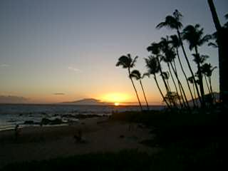 Days Inn Maui Oceanfront: Maui sunset