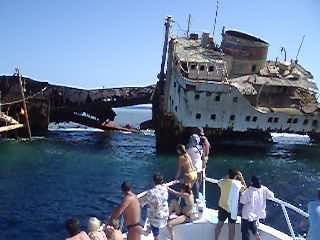 Tiran Island, Egito: Tiran boat trip