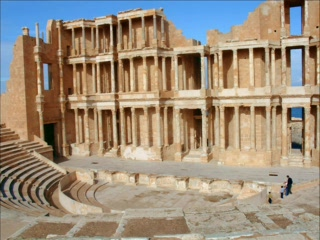Sabratah, Λιβύη: Archaeological Site of Sabratha - Libya
