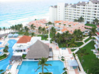 Omni Cancun Resort & Villas: Omni View from the presidential suite - pre-Wilma