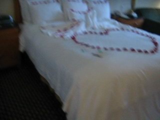 JW Marriott Cancun Resort & Spa : JW Marriott Cancun hotel room (upon arrival)
