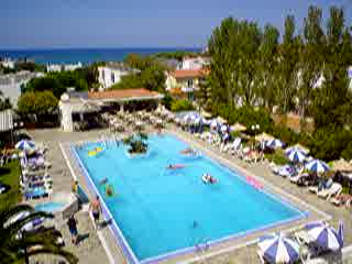 Malia, Greece: Kyknos Pool