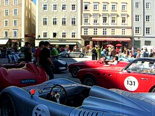 Salzbourg, Autriche : 05 Car rally in Salzburg