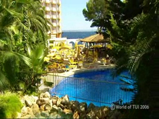 Illetes, İspanya: Thomson.co.uk video of the BON SOL in ILLETAS, Majorca