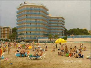 Thomson.co.uk video of the Golden Donaire Park in La Pineda, Costa Dorada
