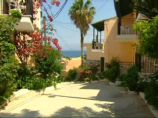 Ionian Islands, Greece: Thomson.co.uk video of the Dimas in KASSIOPI, Corfu