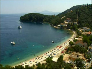 Thomson.co.uk video of the Adonis & Asontis in Kalami, Corfu