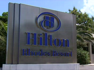 Città di Rodi, Grecia: Thomson.co.uk video of the HILTON RHODES RESORT in IXIA, Rhodes