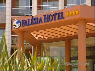 Falésia Hotel: Thomson.co.uk video of the Falesia Hotel in , Algarve