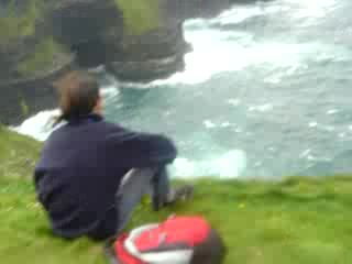 Liscannor, Irlande : The Cliffs of Moher