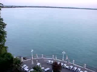 Lake Garda, İtalya: Hotel Continental - view from our balcony