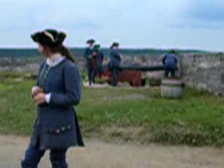 Louisbourg, Canada: Cannon Firing