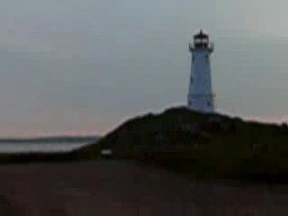 Louisbourg Lighthouse-surf-car ceiling-fingers