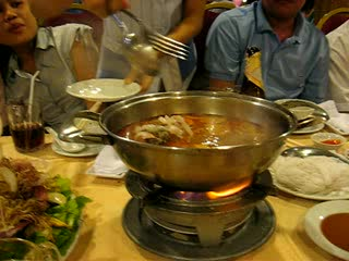 Ho Chi Minh-byen, Vietnam: Dinner at First Grill Saigon