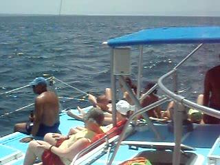 Pampatar, فنزويلا: Trimaran trip to Coche Island