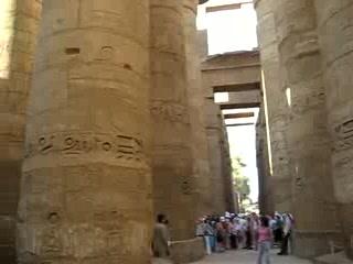 Louxor, Égypte : Karnak, the Great Hypostyle Hall