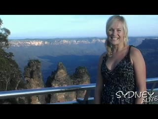 Katoomba, Australie : Blue Mountains : 3 sisters