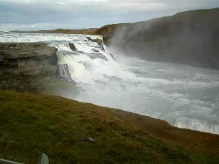 Blaskogabyggd, Island: GULFOSS...LIVE ACTION!!!