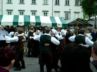 Ljubljana, Slowenien: A Slovenian polka