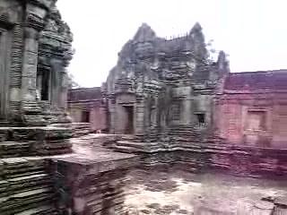 Siem Reap, Cambodia: Inside Bantey Samre