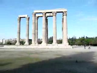 Attica, Grecia: Video - Temple of Olympiad Zeus