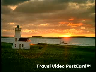 Isola del Principe Edoardo, Canada: Prince Edward Island: Travel Video PostCard