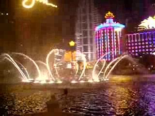 Wynn Macau: 澳門永利噴水池