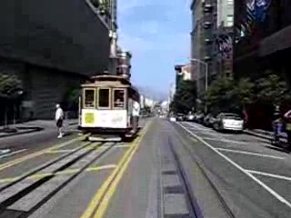 A ride on the San Francisco Trolley car