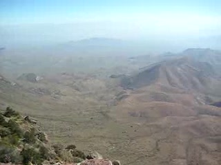 Big Bend South Rim Video