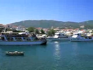 Skiathos by, Hellas: Skiathos Town Harbour