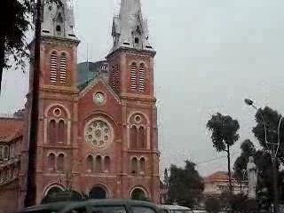 Ho Chi Minh City, Vietnam: Notre dame Saigon
