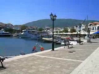Skiathos by, Hellas: 360° Skiathos Town Harbour