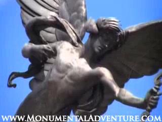 Λονδίνο, UK: Eros Statue - Piccadilly Circus - London UK