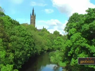 Глазго, UK: Kelvingrove Park