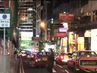 Hong Kong, Chine : Lan Kwai Fong