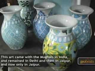 Jaipur, India: Blue Pottery